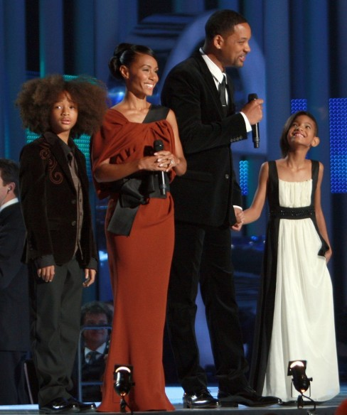 Will Smith Family At Nobel Peace Prize Concert Family