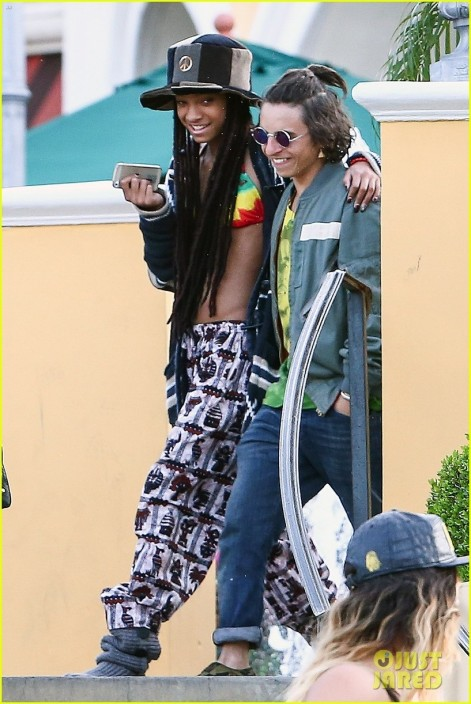Willow Smith Wears Bikini Top Septin Willow Smith