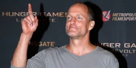 Lan Ape Woody Harrelson Pajamas Mockingjay Hunger Games Premiere Woody Harrelson