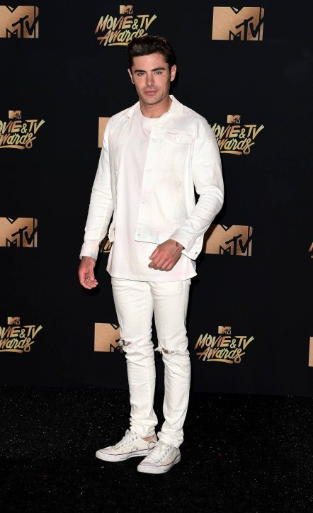 Zac Efron Mtv Movie And Tv Awards On May Zac Efron