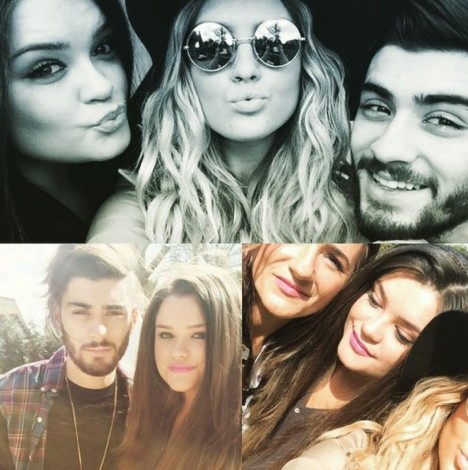 Zayn Malik Perrie Edwards In Vacanza And Perrie Edwards
