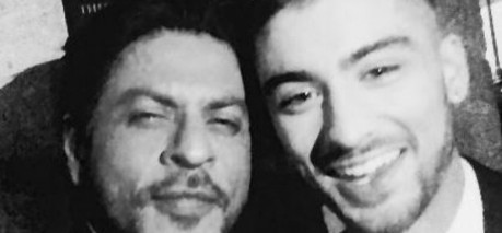 Zayn Malik Selfie With Shahrukh Khan Sets India Retweet Record
