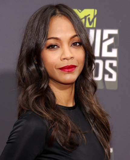 Fashion And Beauty Top Ten Beauty Looks Zoe Saldana Avatar