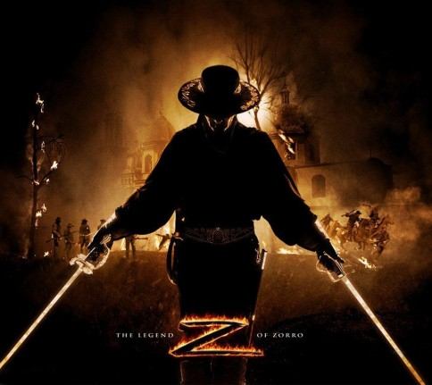 The Legend Of Zorro Movie Poster Actor